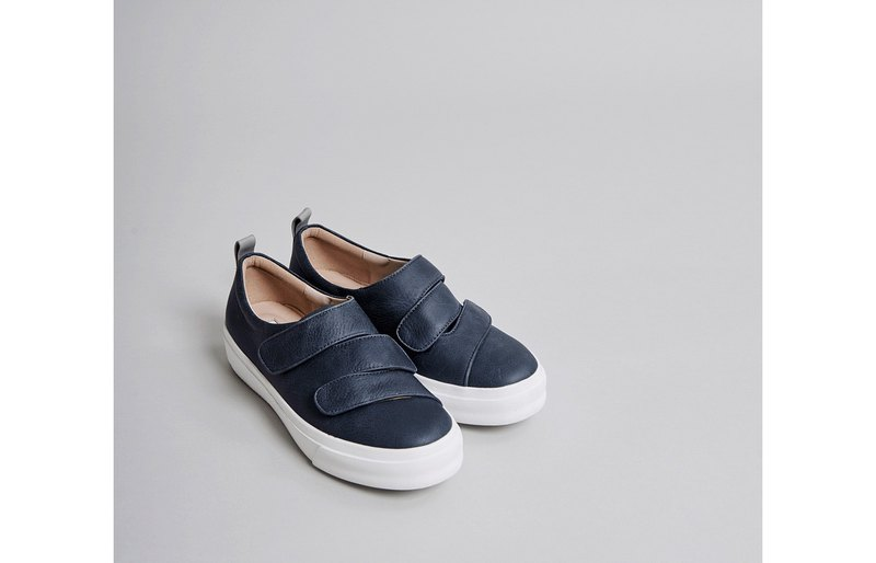 Devil sticky staggered platform casual shoes blue