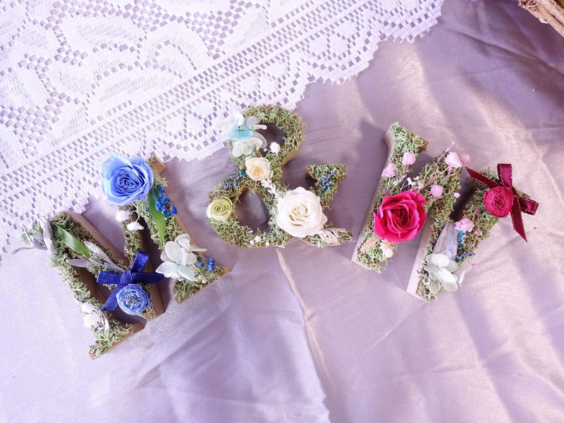 [Wood flower art word] Congratulations │ opening ceremony │ marriage proposal │ birthday ceremony │ eternal flower │ dried flower