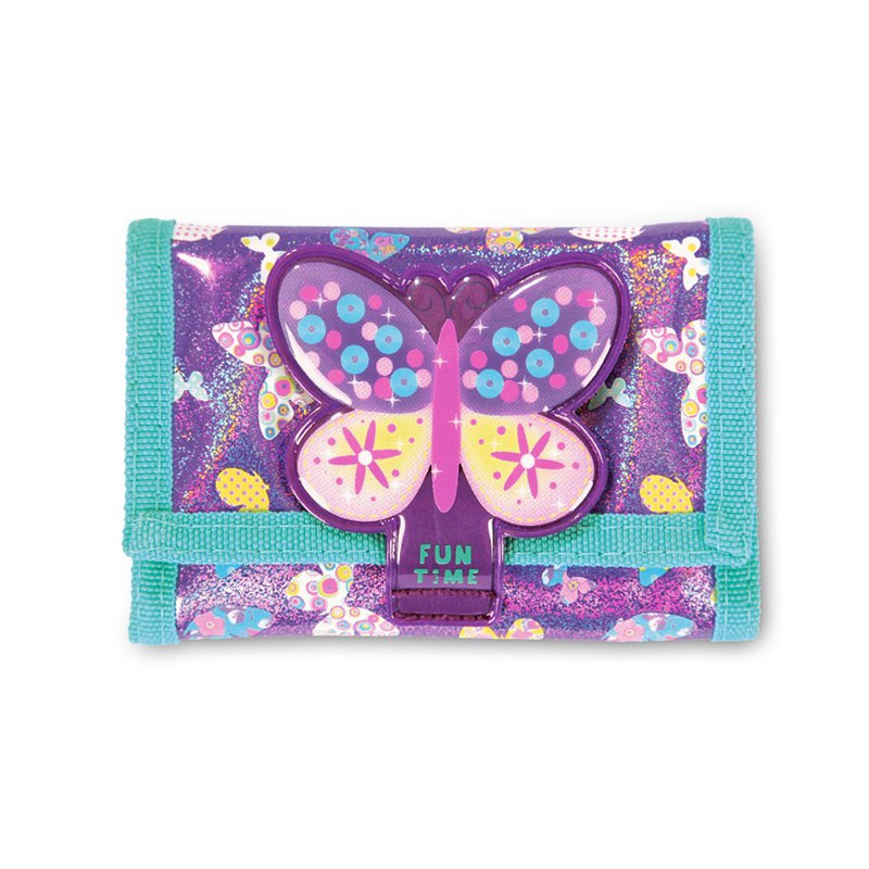 Tiger Family-Fun Time Fun Wallet - Shiny Butterfly