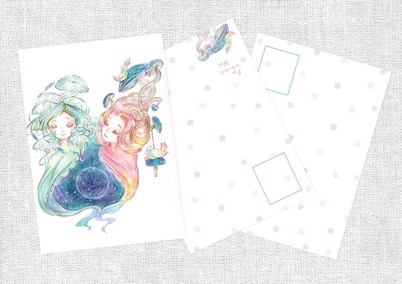 Symbiosis Postcards