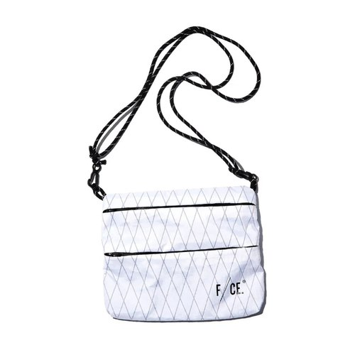 F/CE. x DYCTEAM - X-PAC Sacoche M Side Backpack (Medium-WHITE/White)