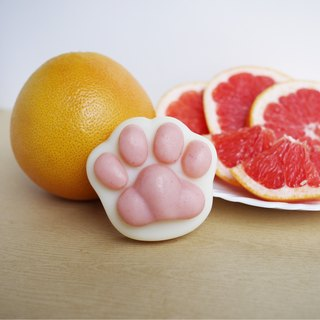 Shea Butter Cat Paw Soap (For Body) - Grapefruit