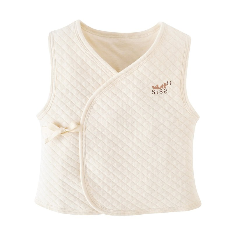 [SISSO organic cotton] sunshine air cotton baby warm vest
