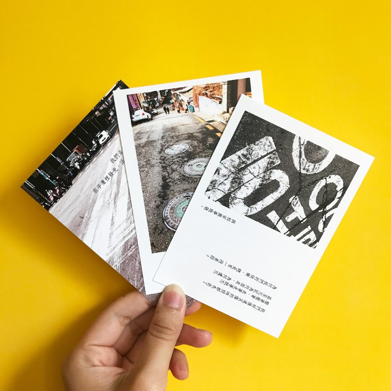 [85% off road series] new poetry card / card / postcard Wenqing small things / photography / Korea