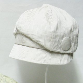 Bird news Boy cape unique design like a little bird news Boy cap · beige ladies' hat size adjustment OK 【PL 1234-BG】