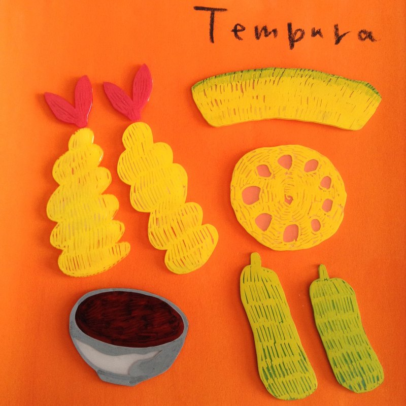 Illustration Original picture Tempura