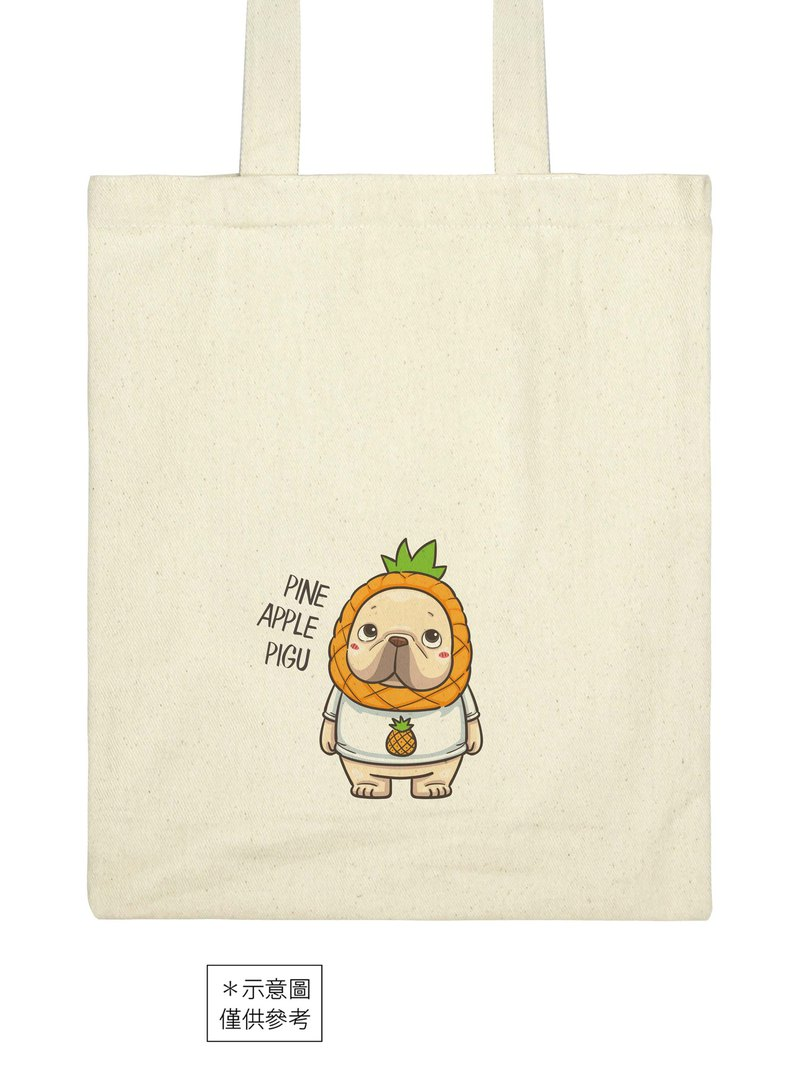 Yishenfadoupi ancient series canvas bag [pigu pineapple Wanglai]