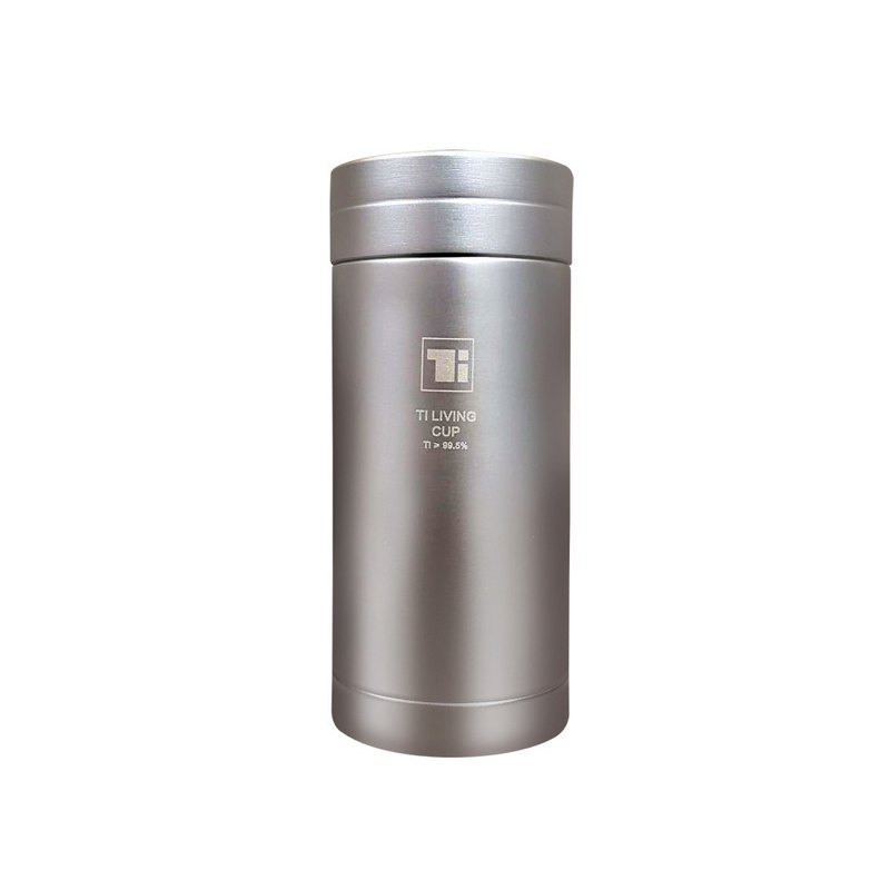 [Pure titanium welfare products] Pure titanium thermal insulation lightweight cup 200ml