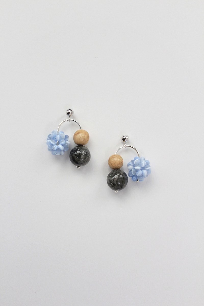 Mini Otto Mobile Earrings in Blue