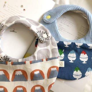 Hamamatsu Japan Six Layers Handmade Bib