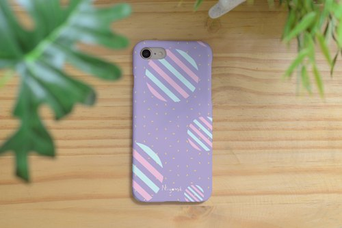 iphone case pastel circles for iphone5s, 6s, 6s plus, 7, 7+, 8, 8+, iphone x