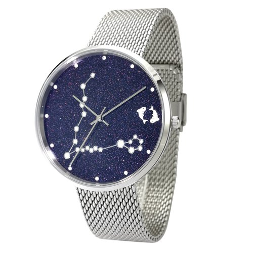 Constellation in Sky Watch (Pisces) Luminous Free Shipping Worldwide