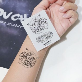 TU Tattoo Sticker - small fresh / Tattoo / waterproof Tattoo / original / Tattoo Sticker