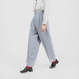 [Egg plant ancient] Yanghai atmosphere straight old vintage pants