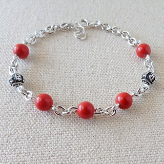 Lucky Prayers [Six words Ming Curse] cinnabar bracelet fortunate luck, evil spirits, blocking the Eritrean