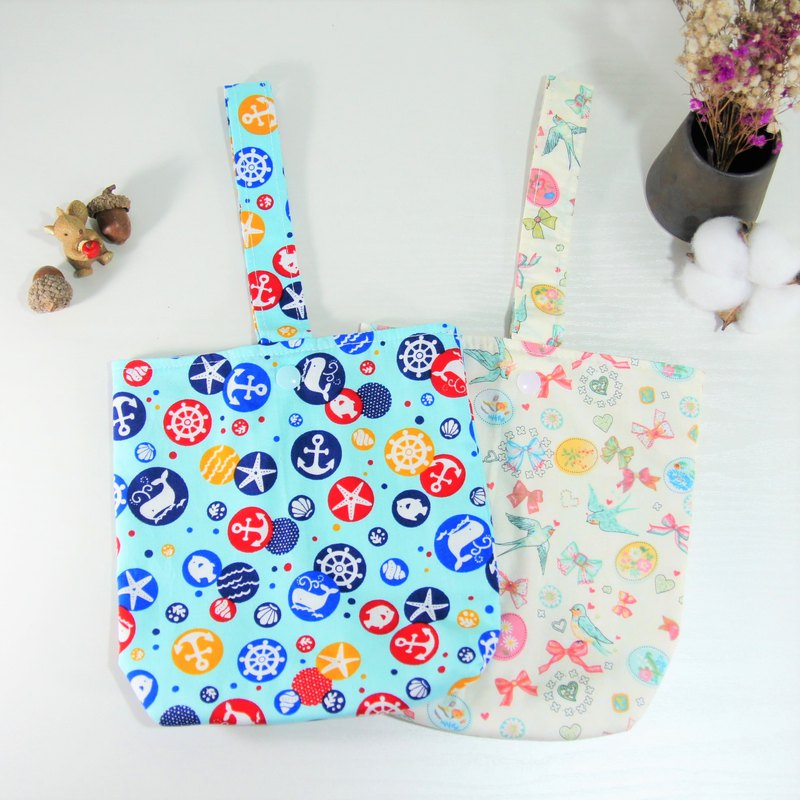 Environmentally friendly water bottle bag, beverage bag
