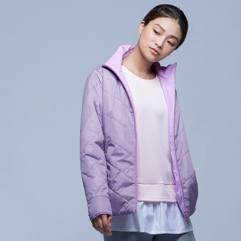 [MACACA] Gentle Warm Reversible Jacket-BRH4144 Purple