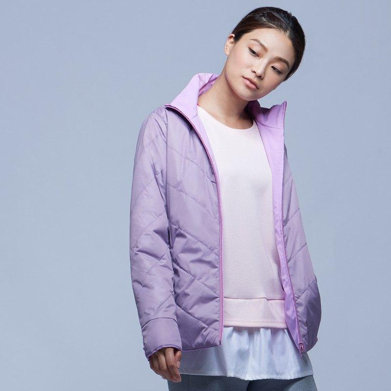 【MACACA】輕柔暖雙面穿外套 - BRH4144 紫