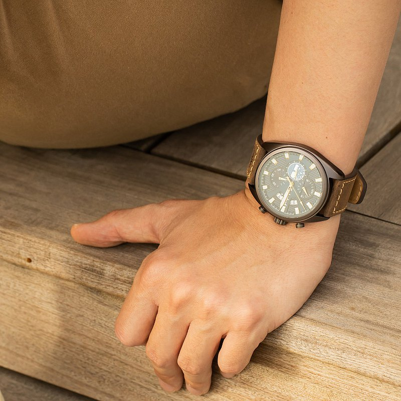 Timberland SEABROOK three-hand multi-function watch | 45mm