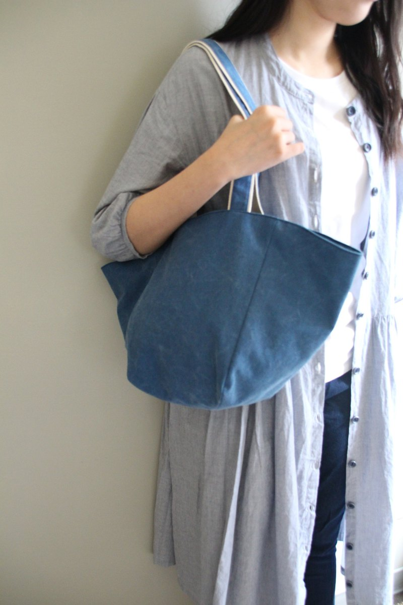 I won the heart of my series of tannins thick washed canvas bag with only one out of print