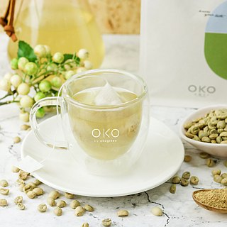 [Ecological Green OKO] Green Coffee (10g x 30 in)