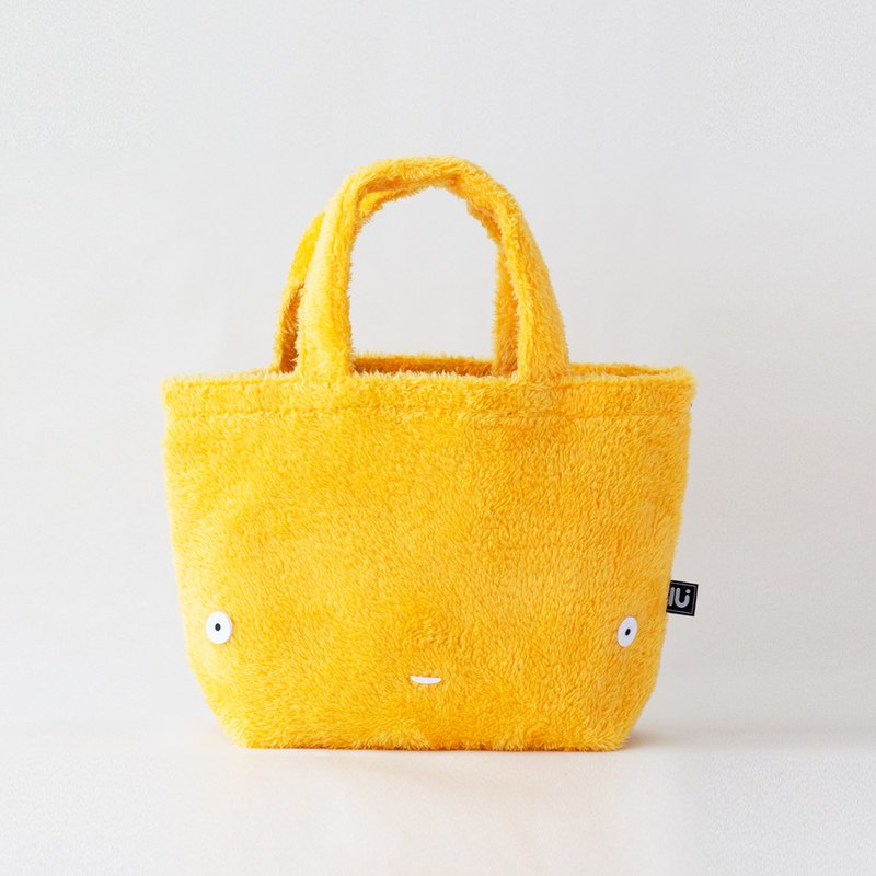 Lu face mini bag  Yellow
