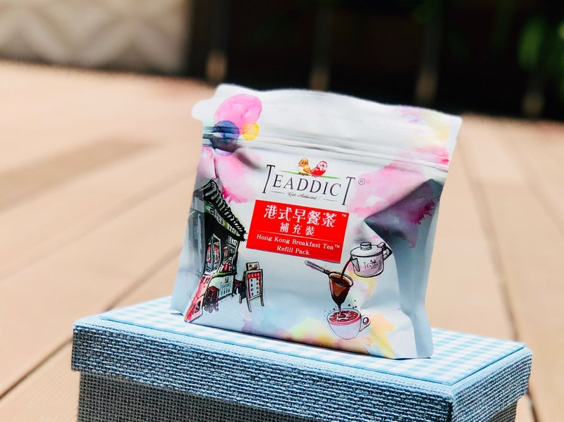 Teaddict HK Breakfast Tea - Refill Pack 250g