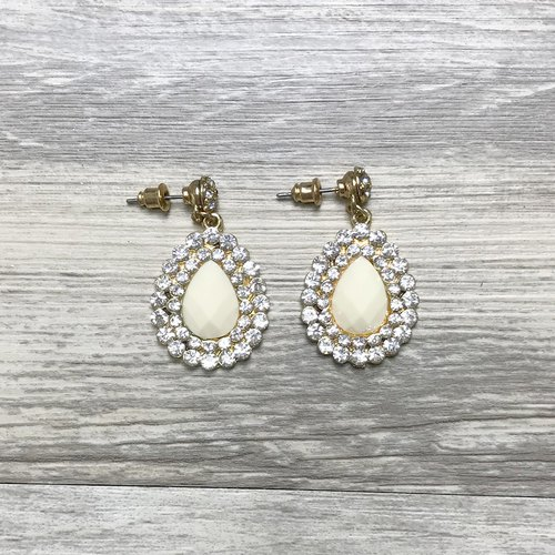 Gorgeous drop-shaped earrings antique earrings BHA064