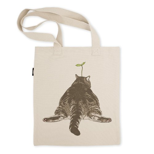 AMO®Original Tote Bags/AKE/Big Butt Cat