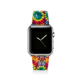 Tie dyed Apple watch band, Decouart Apple watch strap S039 (including adapter)