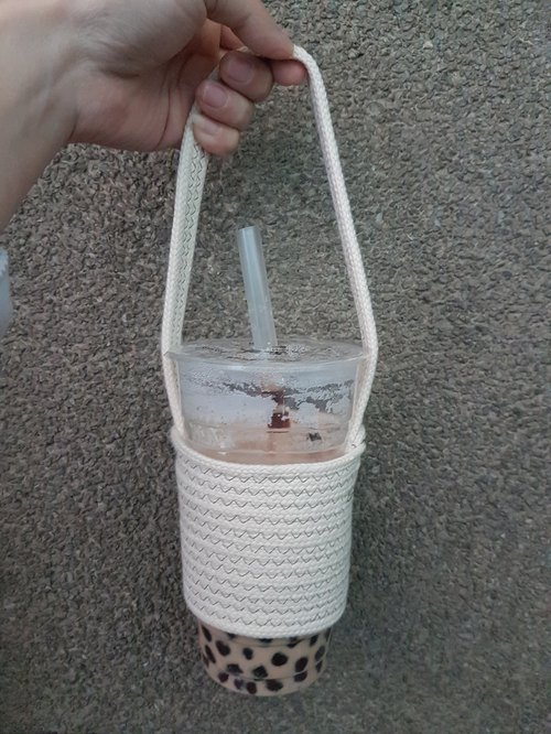 Rope bag for cups in Dia. 10 cm