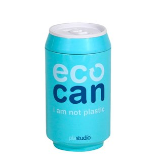 PLAStudio-ECO CAN-280ml-Made from Plant-Sky Blue