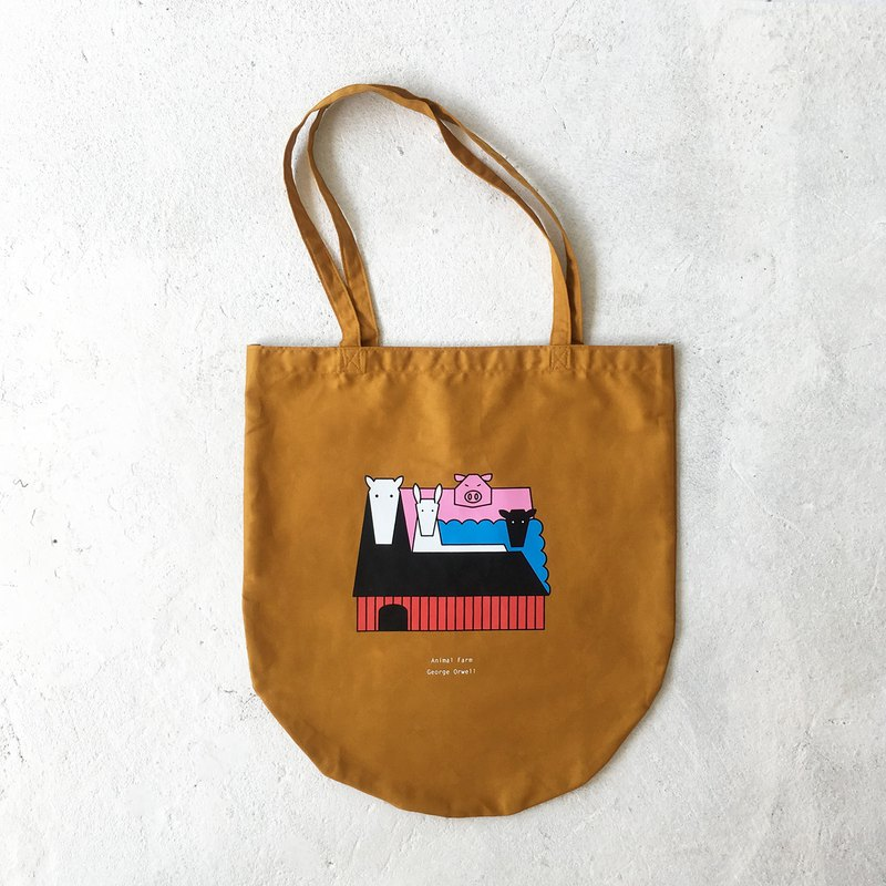 Animal Farm Tote-Bag (Yellow)
