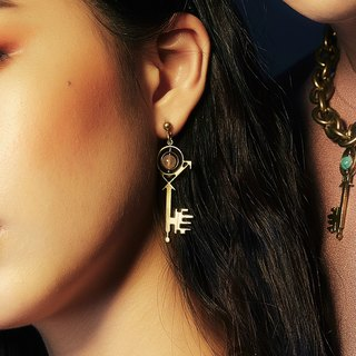 ZODIAC ASYMMETRIC EARRINGS