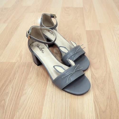 Wanna Bunny Maxi Sandals - Grey