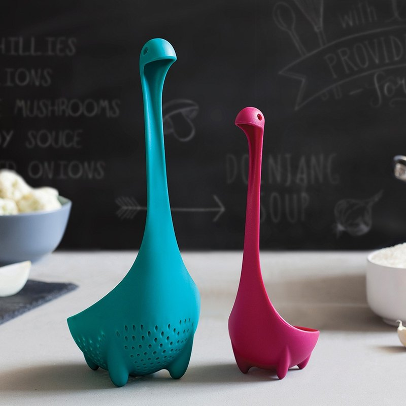OTOTO Loch Ness Monster - Soup Set (Turkish Blue + Purple)