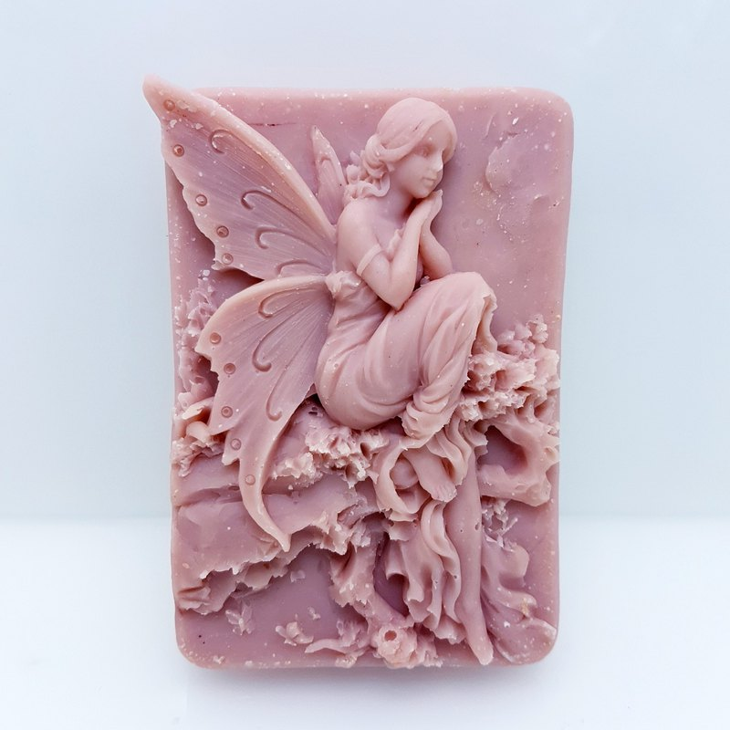Fancy Fairy Handmade Essential Oil Red Clay Soap