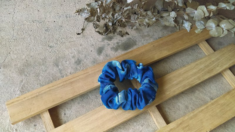 Know Dye Life - Natural Blue Dye Handmade Hair Accessories (Multicolor)