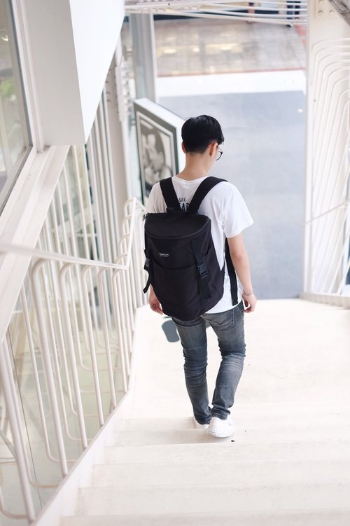 Lamoon Life Backpack (Black)
