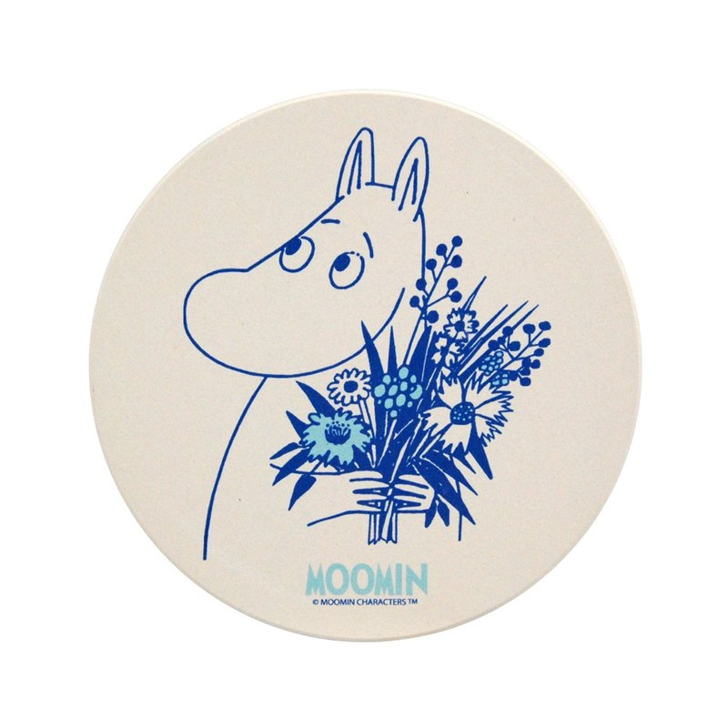 Moomin 噜噜 米 Authorization-Suction Coaster- [Send My Love] (Round)