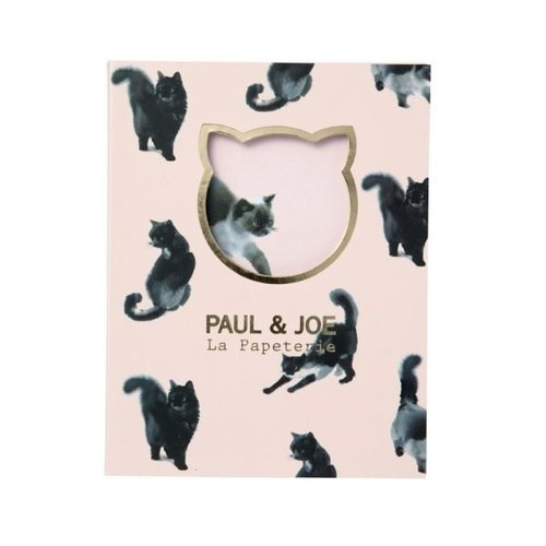 Mark's x PAUL & JOE Sticky Notes Set【Suiboku Cat (PAJ-F1-F)】2017SS