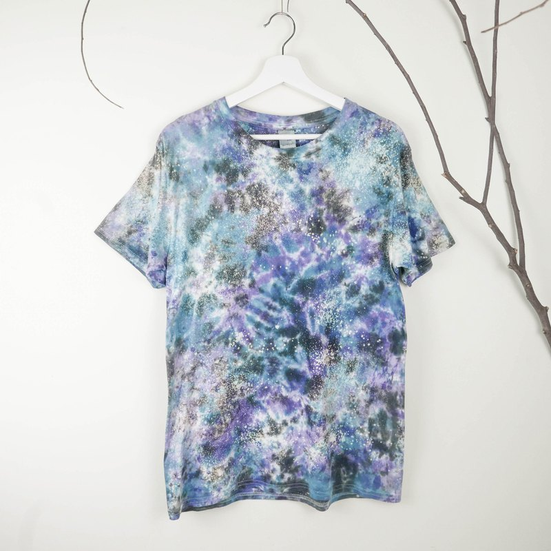 : Starry: Tie dye/T-shirt/Garment/Custom size/Men/Women