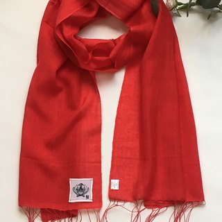 Cashmere Gauze Handwoven Scarf