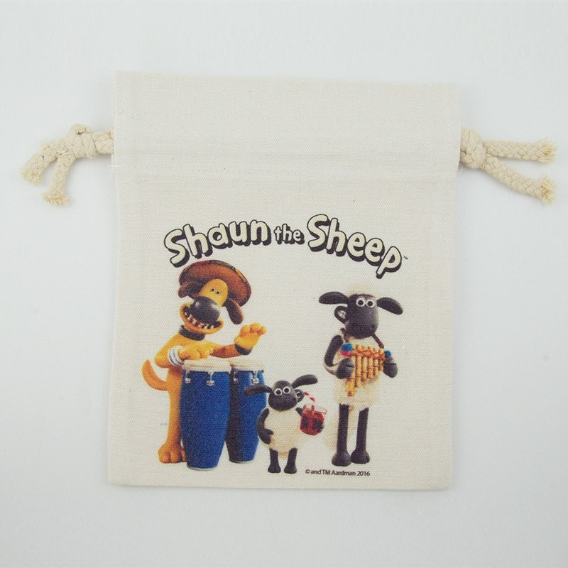 Smiled sheep genuine authority (Shaun The Sheep) - Pouch (Small): [Party] Prairie
