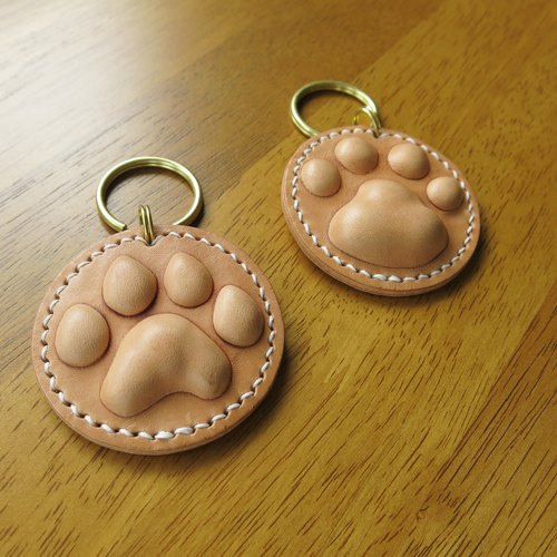 Healing meatball key ring two different shapes of palm print 【Jane One Piece X Mini 5】