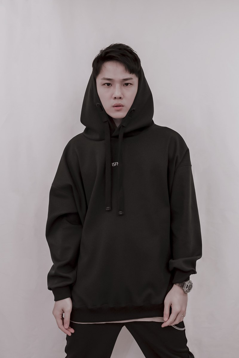 ISFN 2019 A/W Dropped Shoulder Hoodie - Black 帽T 連帽上衣