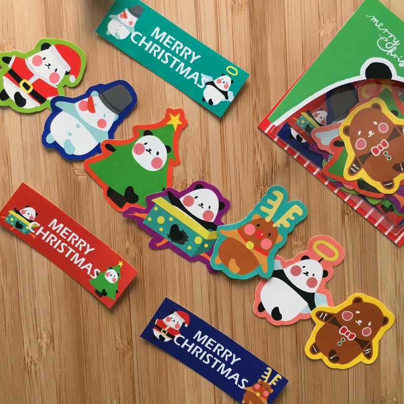 2017 Christmas Sticker Set