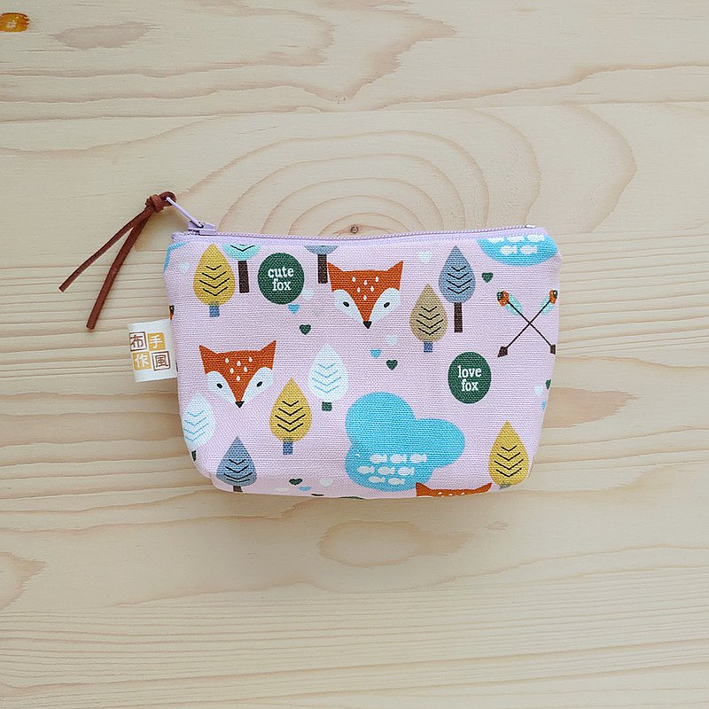 Fox Little Tree_Pink Purple Purse / Left 1