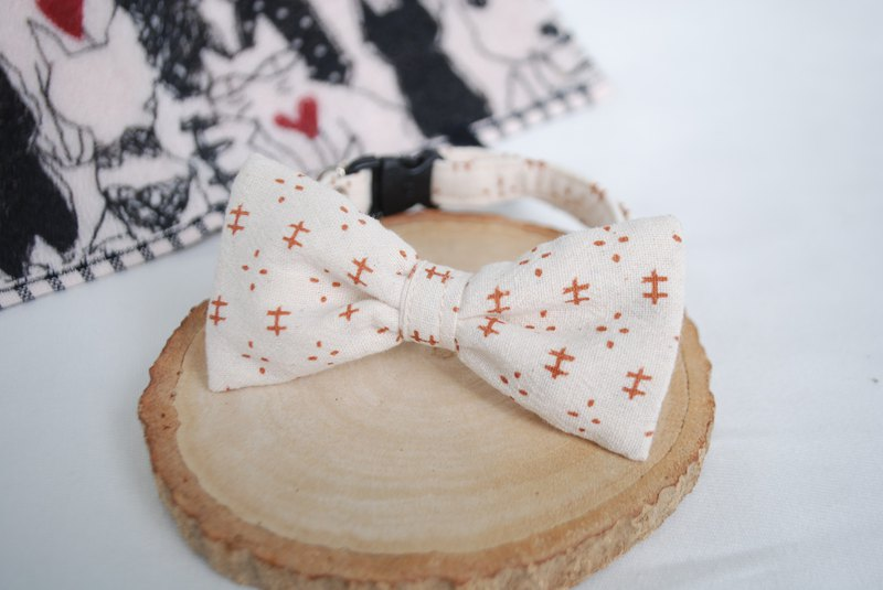 A-NI Spring dogs dog collar (Bow)