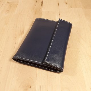 Leather leather handmade limit and wind simple feel short clip wallet wallet storage